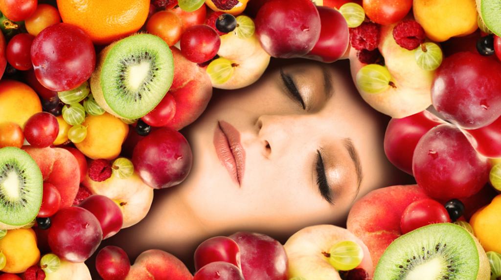 Frutas para la piel